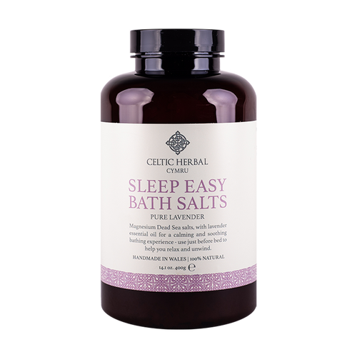 Celtic Herbal - Sleep Easy Bath Salts with Lavender 400g
