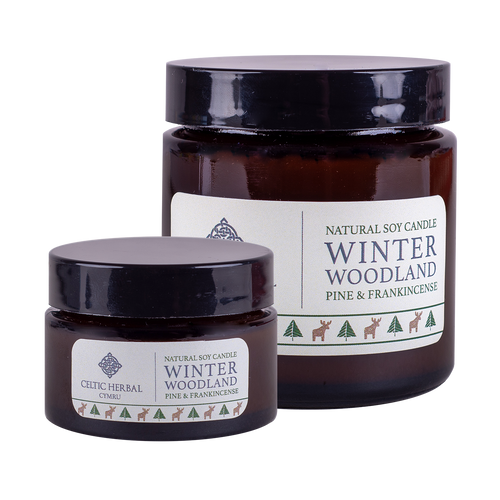 Celtic Herbal - Winter Woodland Candles with Pine & Frankincense