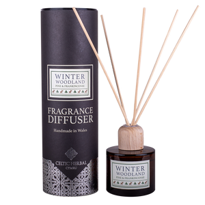 Celtic Herbal - Winter Woodland Reed Diffuser with Pine & Frankincense 100ml