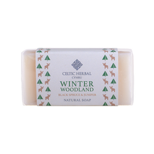 Load image into Gallery viewer, Celtic Herbal - Winter Woodland Soap with Black Spruce & Juniper 100g