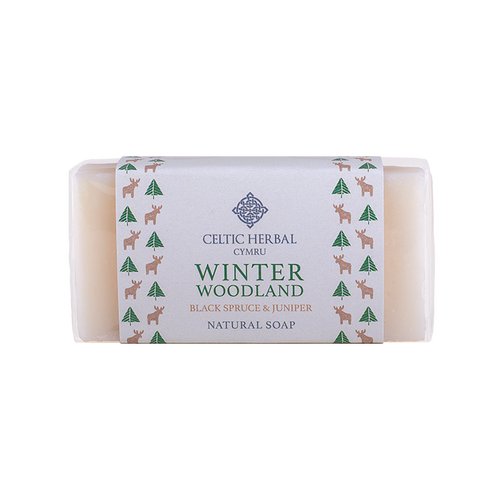 Celtic Herbal - Winter Woodland Soap with Black Spruce & Juniper 100g