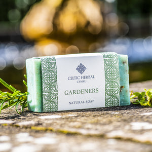 Gardeners soap - Celtic Herbal Natural Handmade Soap