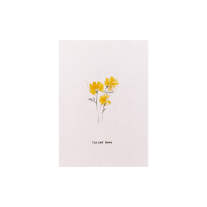 Celtic Herbal x Folded London Welsh Language Greeting Cards - Cariad Mawr