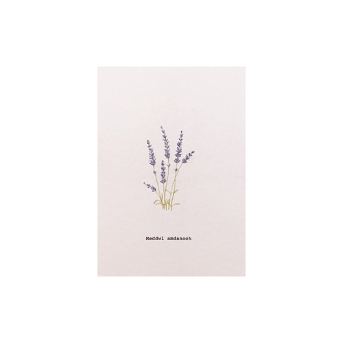 Celtic Herbal x Folded London Welsh Language Greeting Cards - Meddwl Amadanoch