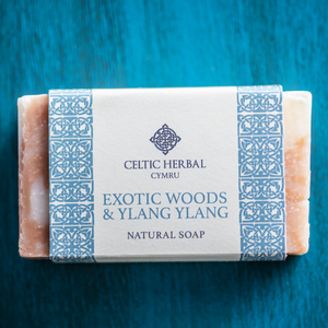 Exotic Wood & Ylang Ylang Soap 100g - Handmade Natural Soap Bar
