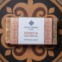 Load image into Gallery viewer, Honey and Oatmeal Soap - Celtic Herbal Natural Handmade Soap