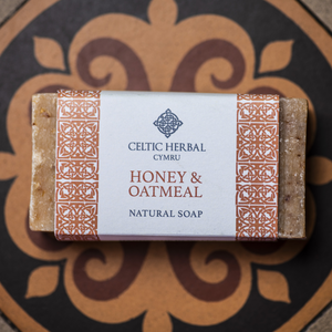 Honey and Oatmeal Soap - Celtic Herbal Natural Handmade Soap
