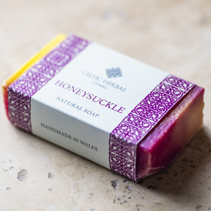Honeysuckle Celtic Herbal Natural Handmade Soap