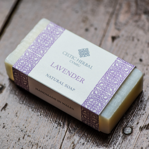 Pure Lavender Soap - Celtic Herbal Natural Handmade Soap