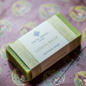 Lemon Balm Soap - Celtic Herbal Natural Handmade Soap