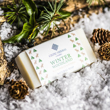 Load image into Gallery viewer, Winter Woodland - Celtic Herbal Natural Handmade Soap