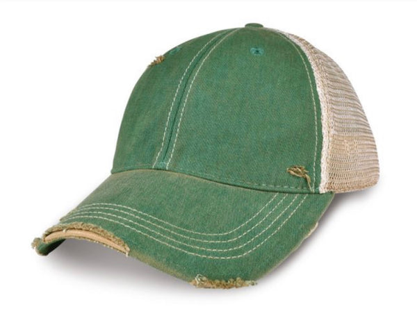 Life is Better on the Ranch Hat, Ball Cap, Distressed Hat, Weathered Hat
