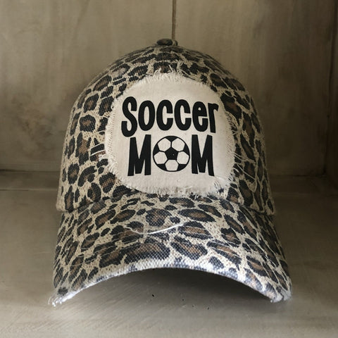 Soccer Mom Hat, Mom Hat, Sports Mom Hat