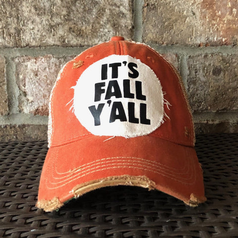 It's Fall Y'all Hat, Fall Hat