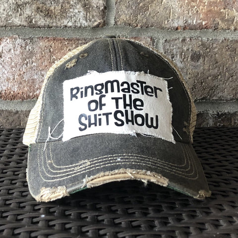 Ringmaster of the Shit Show Hat