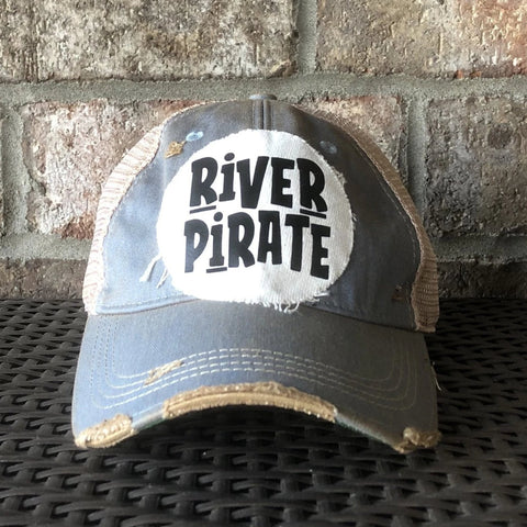 River Pirate, River Hat, Floating Hat