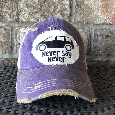 Never Say Never Hat, Fun Hat