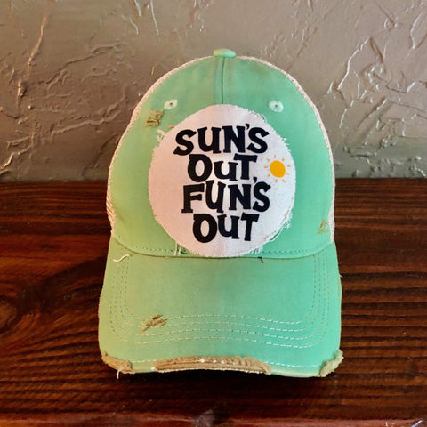 Sun's Out Fun's Out Hat, Summer Hat