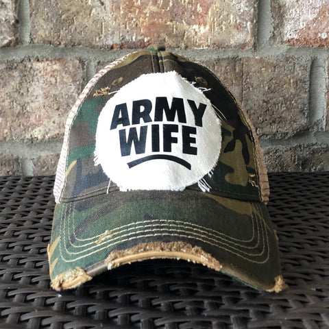 Army Wife Hat, Army Hat, Military Hat, Armed Forces Hat
