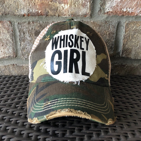 Whiskey Girl Hat, Women's Ball Cap