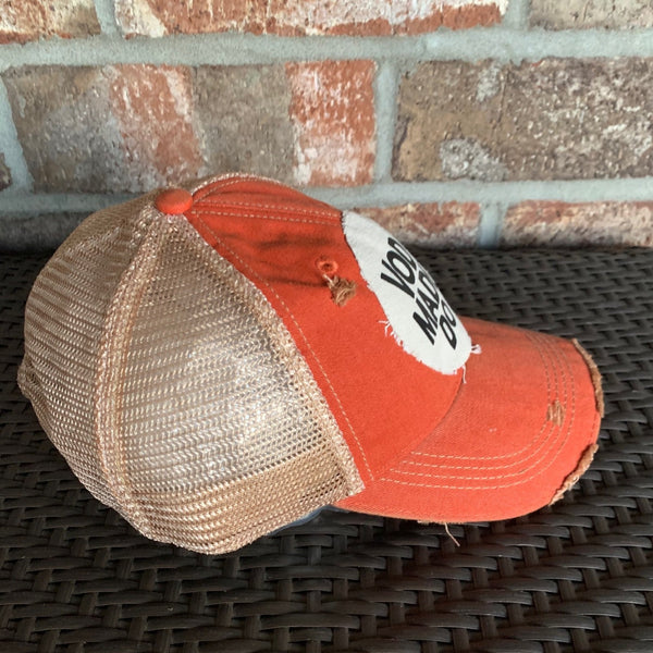 Wine Made Me Do It Hat, Women's Hat, Ball Cap, Distressed Hat, Weathered Hat