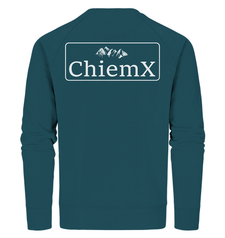 Bio-Baumwolle Backprint-Sweatshirt