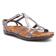 Naot Dorith Sandal Silver Threads Leather
