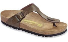 Birkenstock Gizeh Golden Brown Birko-Flor