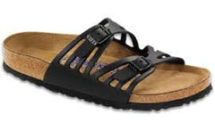 Birkenstock Granada Soft Footbed Black Oiled Leather