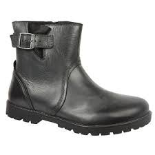 Birkenstock Stowe Boot Black Leather