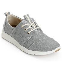 Toms Del Ray Grey Blocked