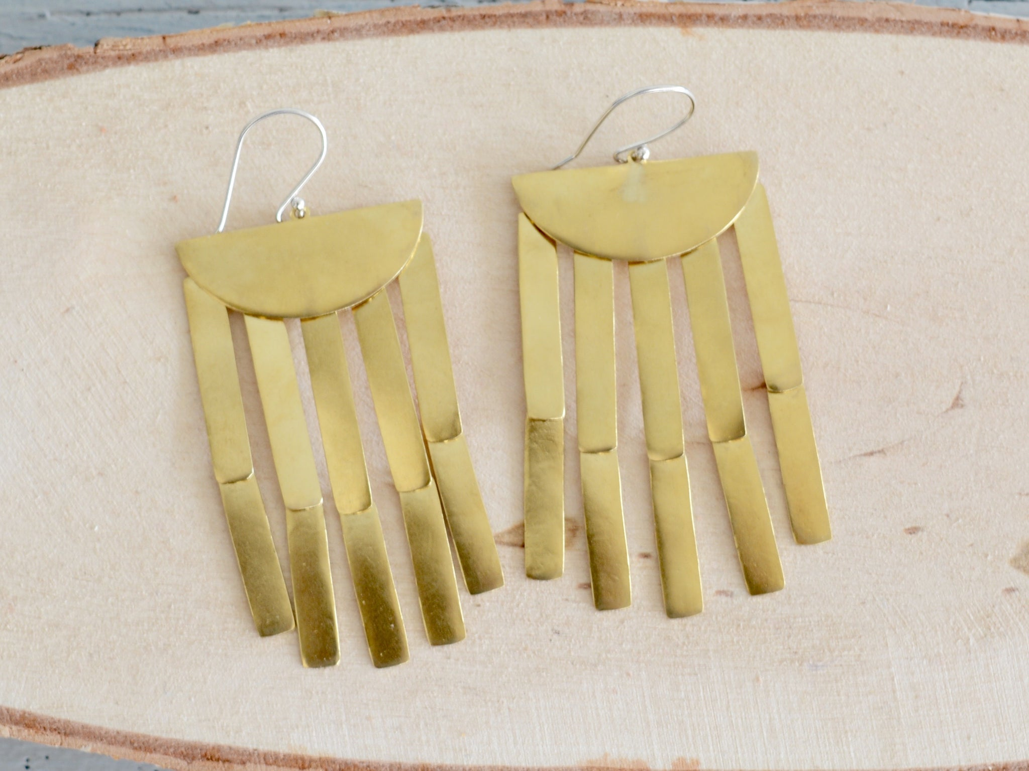 Bambu Chandelier Earrings