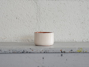 Terracotta and Cream Ramekin