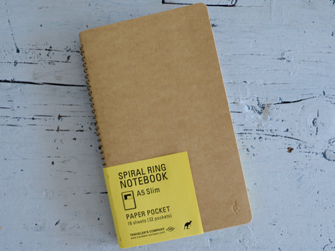 Vertical Paper Pocket Notebook