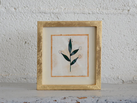 Original Leaf Painting