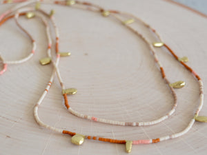 Seed Wrap Necklace