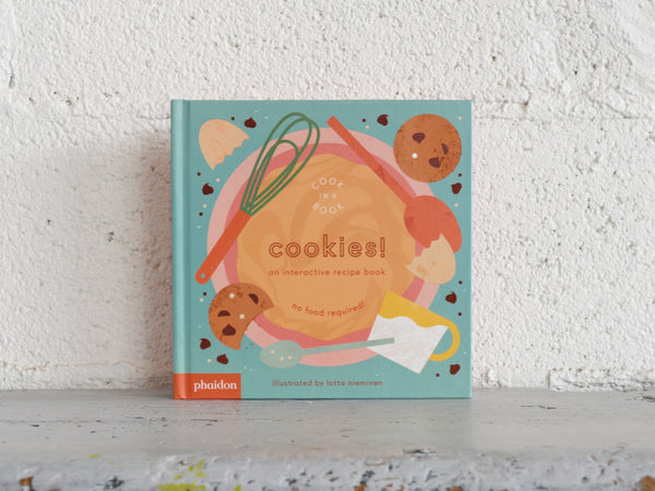 Cook in a Book:  An Interactive Recipe Book