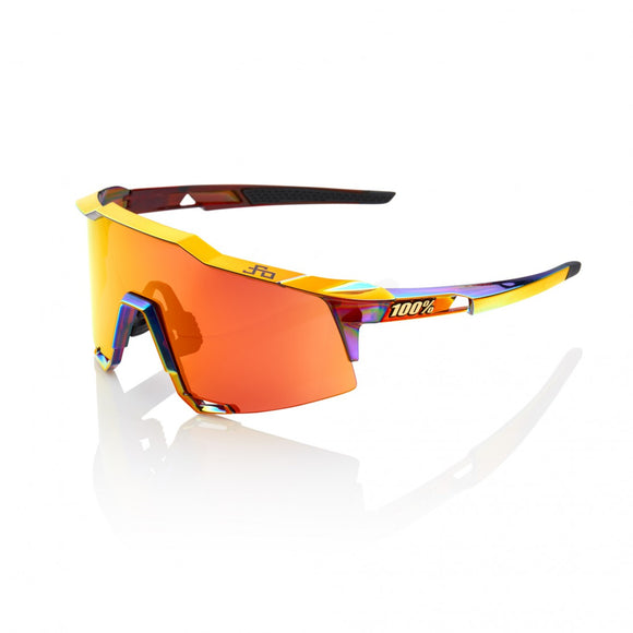 100% Speedcraft Peter Sagan Limited Edition, Hiper Red Multilayer Mirror Lens