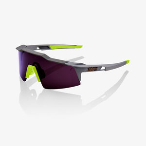 100% Speedcraft SL Soft Tact Mauve, Purple Lens
