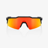 100% Speedcraft SL Soft Tact Black, Hiper Red Mirror Lens