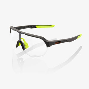 100% S2 Soft Tact Cool Grey Photochromic Lens