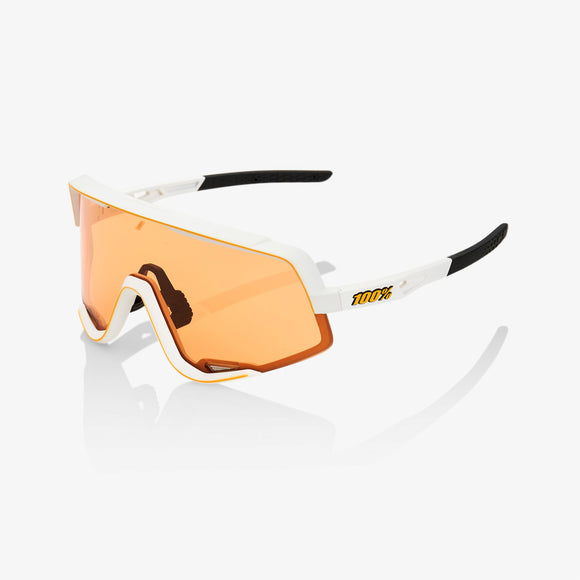 100% Glendale Soft Tact Off White, Persimmon Lens