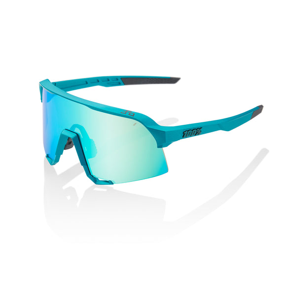 100% S3 Peter Sagan Limited Edition, Blue Topaz Multilayer Mirror Lens