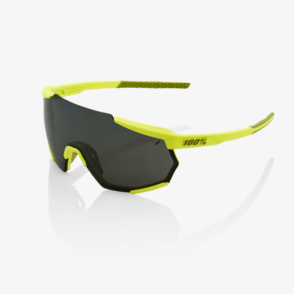 100% Racetrap Soft Tact Banana, Black Mirror Lens