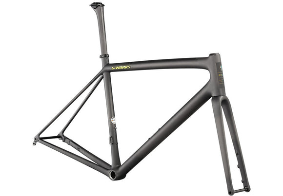 Specialized S-Works Aethos Frameset Satin Carbon/Jet Fuel