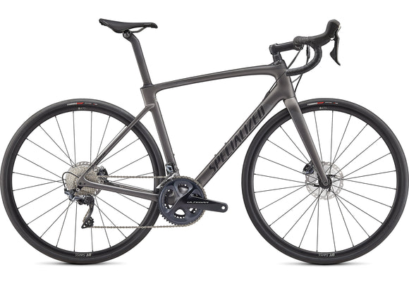 Specialized Roubaix Comp Satin Smoke/Carbon/Black - Ultegra