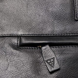 Le Patron Rugzak Le Facteur Black Leather