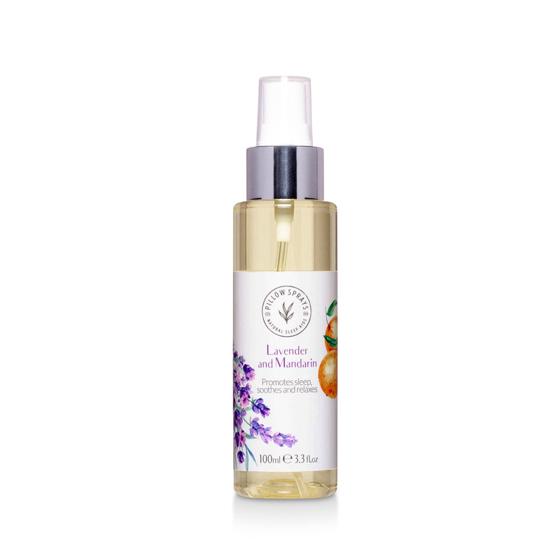 Lavender and Mandarin Pillow Spray