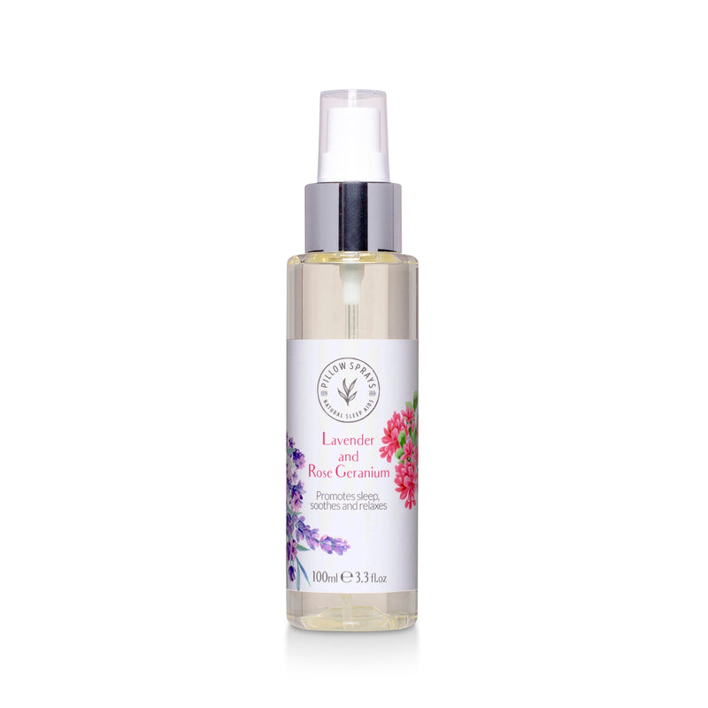 Lavender and Rose Geranium Pillow Spray