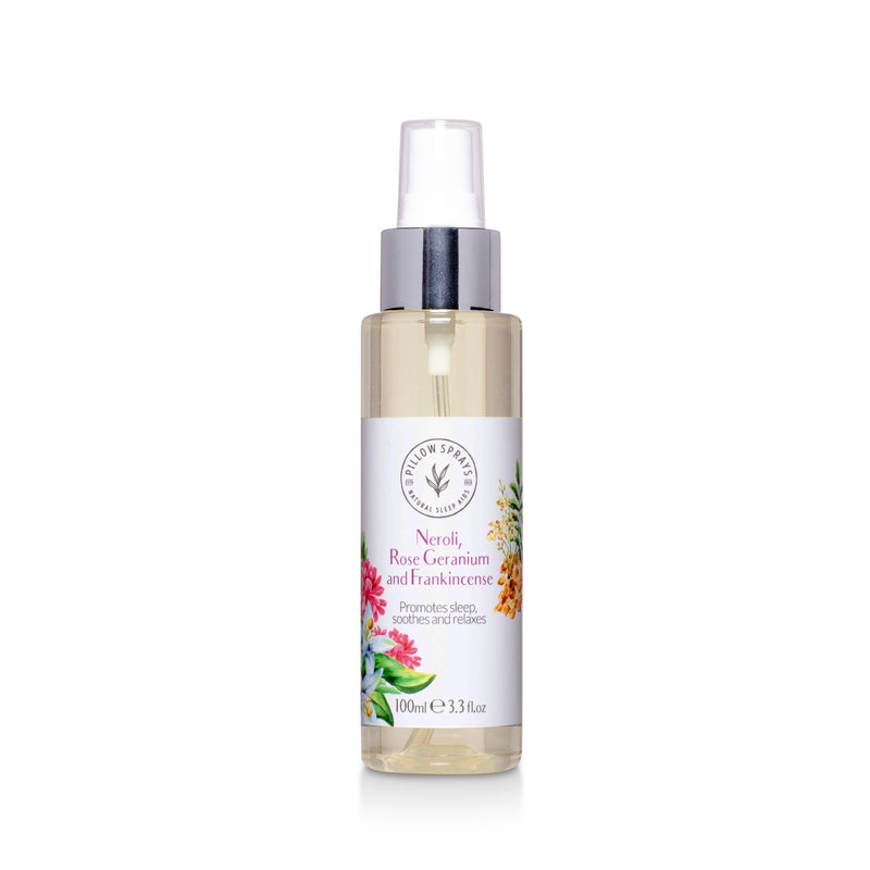 Neroli, Rose Geranium and Frankincense Pillow Spray